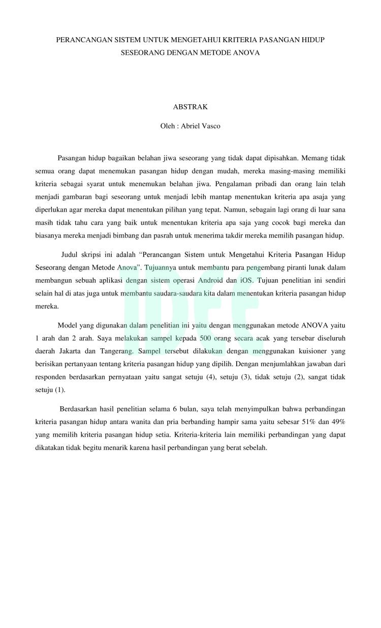 Contoh Abstrak Skripsi Ekonomi Akuntansi - Contoh 36